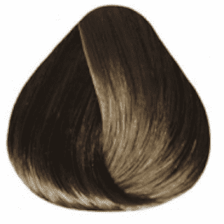 Estel. 6/71 Краска-уход De Luxe, темно-русый коричнево-пепельный
