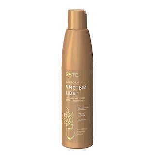 """Estel. Бальзам """"Чистый цвет"""" для тёплых оттенков блонд СUREX COLOR INTENSE, 250 мл."""