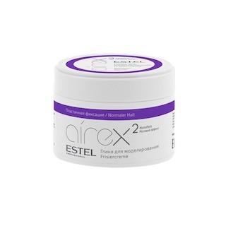 Estel. Глина для моделирования волос с матовым эффектом пластичная фиксация AIREX, 65 мл.