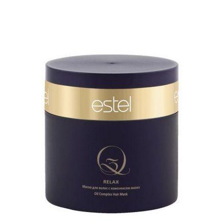 Estel. Маска для волос с комплексом масел Q3 RELAX, 300 мл.