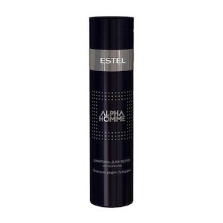 Estel. Шампунь для волос от перхоти ESTEL ALPHA HOMME, 250 мл.
