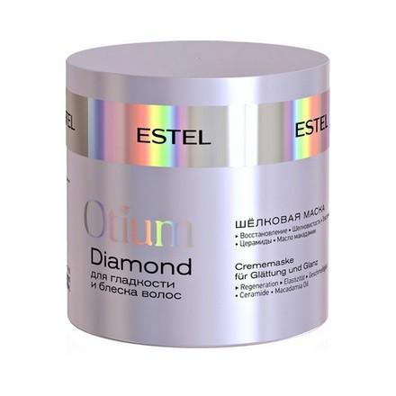 Estel. Шёлковая маска для гладкости и блеска волос OTIUM DIAMOND, 300 мл.