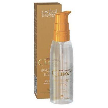 Estel. Жидкий шелк для всех типов волос CUREX BRILLIANCE, 100 мл.