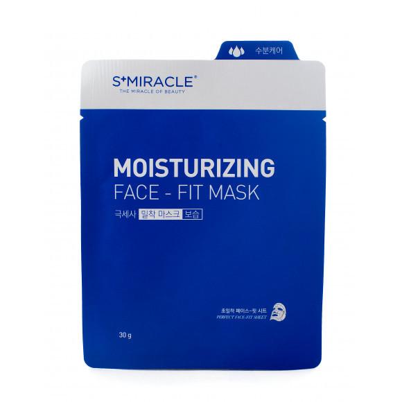 "Маска для лица увлажняющая ""S+MIRACLE"" Moisturizing Face Fit Mask, 30 гр."