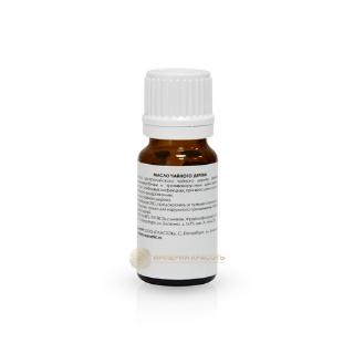 Масло чайного дерева (антивоспалительное), 10 мл.