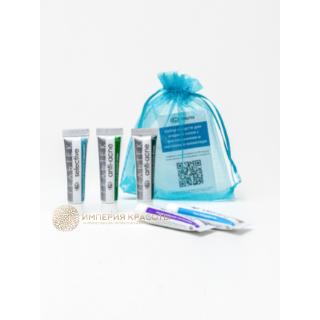 Набор средств для жирной кожи с воспалениями и постакне в миниатюре