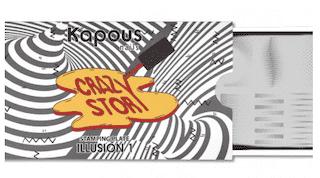 "Illusion 1, пластина для стемпинга ""Crazy story"", арт. 2350"
