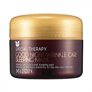 MIZON Ночная маска против морщин Good Night Wrinkle Care Sleeping Mask, 75 мл.