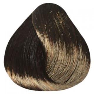 Estel. 4/70 Краска-уход De Luxe, шатен коричневый для седины