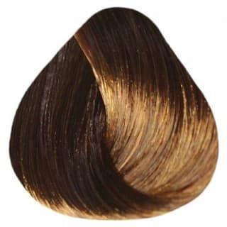 Estel. 6/74 Краска-уход De Luxe, темно-русый коричнево-медный