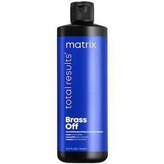 MATRIX Total Results Brass Off - Маска для интенсивной нейтрализации оранжевых подтонов, 500 мл.