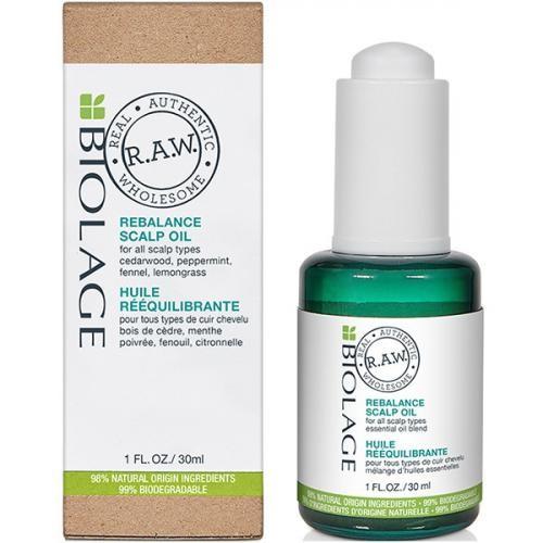 Matrix Biolage R.A.W. Scalp Care Rebalance - Масло для кожи головы, 30 мл.