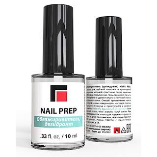 """NAIL PREP"" обезжириватель (дегидрант), 10 мл."