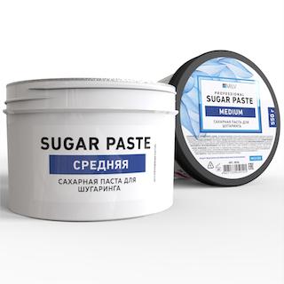 """Milv. Сахарная паста для шугаринга """"Sugar"""" СРЕДНЯЯ, 550 гр."""