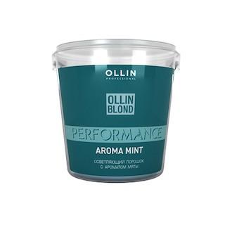 OLLIN BLOND PERFORMANCE Осветляющий порошок с ароматом мяты, 500 гр.