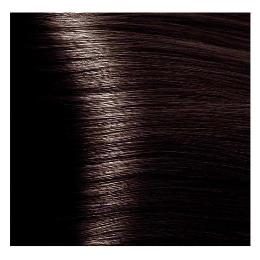 S 4.4 медно-коричневый, крем-краска для волос с экстрактом женьшеня и рисовыми протеинами, 100 мл.