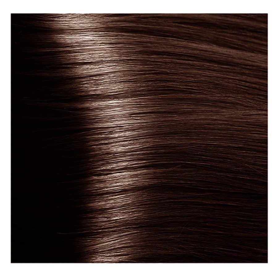 S 5.85 светлый коричнево-махагоновый, крем-краска для волос с экстрактом женьшеня и рисовыми протеинами, 100 мл.
