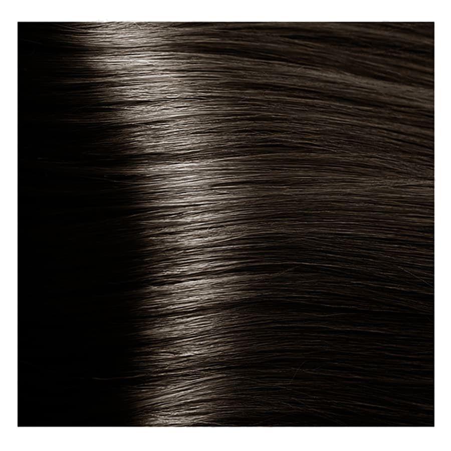 S 6.1 темный пепельный блонд, крем-краска для волос с экстрактом женьшеня и рисовыми протеинами, 100 мл.