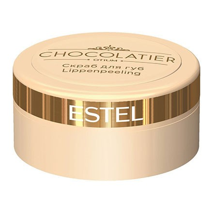 Estel. Скраб для губ ESTEL CHOCOLATIER, 6 мл.