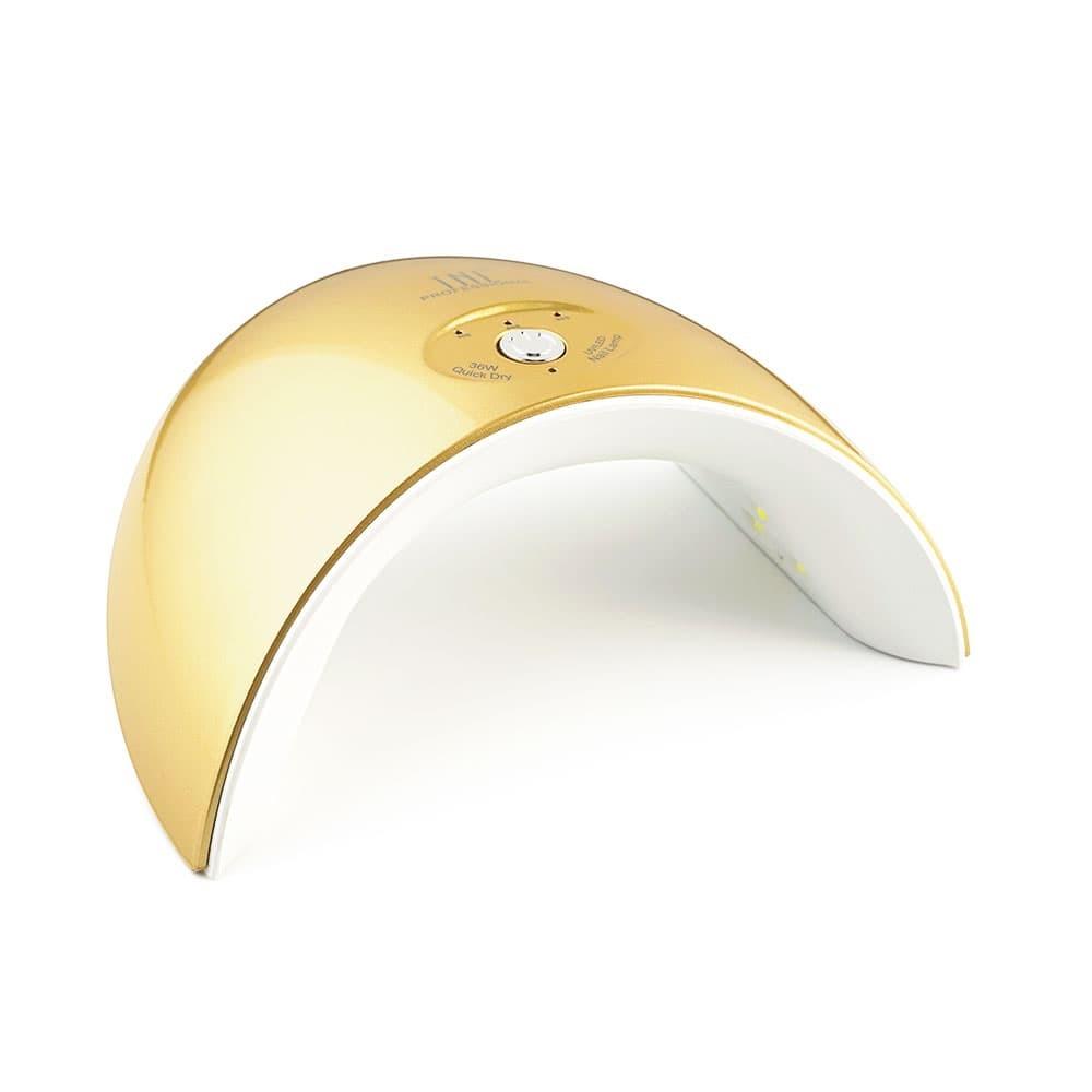 """UV LED-лампа TNL 36 W - """"Mood"""" золотая"""