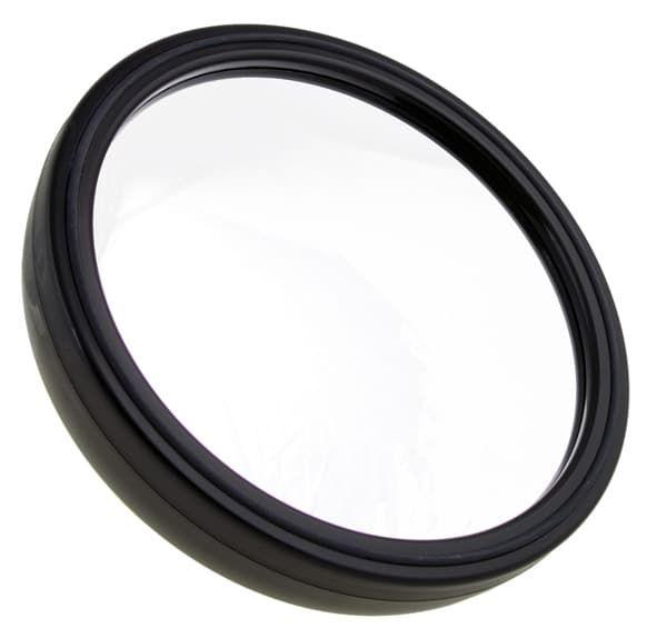 Зеркало парикмахерское круглое, цвет черный