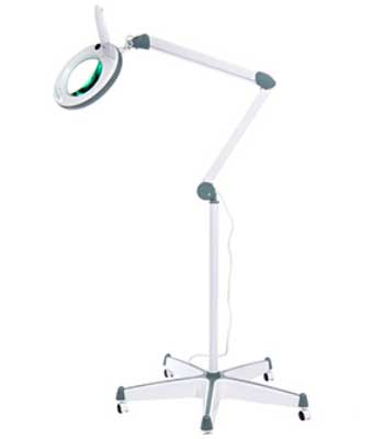 Диодная лампа лупа ЛЛ-5 на штативе