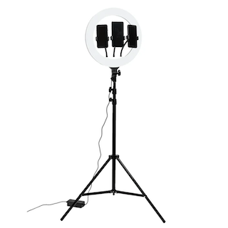 Напольный кольцевой светильник TL-603B
