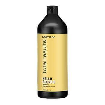 MATRIX Total Results Blonde Care Shampoo - Шампунь для натуральных и окрашенных светлых волос, 1000 мл.