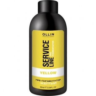 OLLIN SERVICE LINE Флюид-препигментатор желтый, 90 мл.