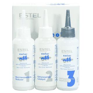 Estel. Эмульсия COLOR off для удаления краски с волос