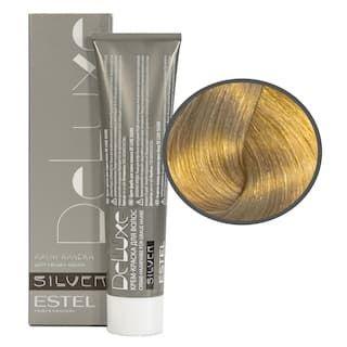 Estel. 9/31 Крем-краска De Luxe Silver, блондин золотисто-пепельный