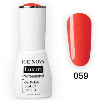 Гель-Лак ICE NOVA Luxury 059 Fire
