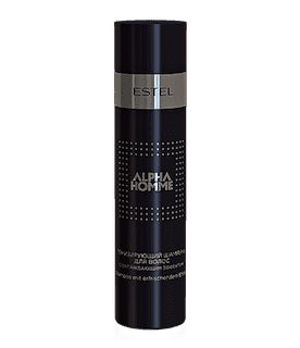 Estel. Тонизирующий шампунь с охлаждающим эффектом для волос ESTEL ALPHA HOMME 250 мл.