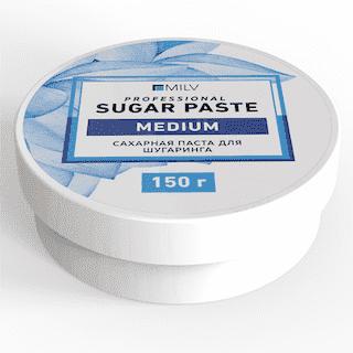 """Milv. Сахарная паста для шугаринга """"Sugar"""" СРЕДНЯЯ, 150 гр."""