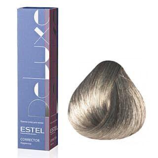 Estel. 0/0G Краска-уход De Luxe, графит (Correct)