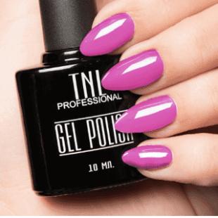 """Цветной гель-лак """"TNL"""" №213 - стальной розовый (10 мл.)"""