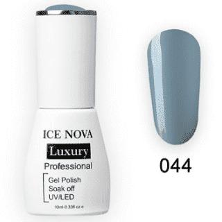 Гель-Лак ICE NOVA Luxury 044 Pewter