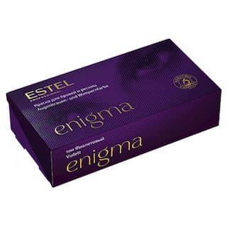 Estel. Краска для бровей и ресниц ENIGMA, тон №9 тон фиолетовый