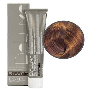 Estel. 7/76 Крем-краска De Luxe Silver, русый коричнево-фиолетовый