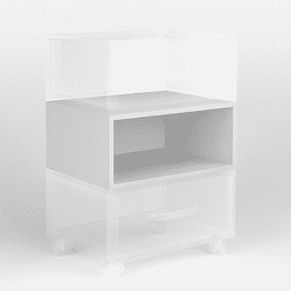 Секция без ящика для универсальной тумбы Bingo (модульная система)