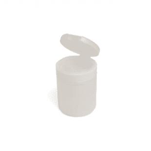 Контейнер туба с крышкой пластиковый (прозрачный)
