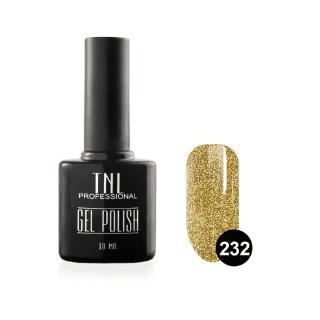 """Цветной гель-лак """"TNL"""" №232 - золото ацтеков (10 мл.)"""