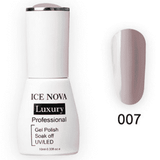 Гель-Лак ICE NOVA Luxury 007 Salmon