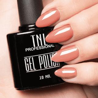 """Цветной гель-лак """"TNL"""" №144 - розовый персик (10 мл.)"""