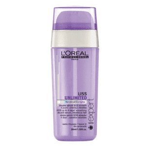 L'Oreal Professionnel Liss Unlimited SOS Smoothing Double Serum - Двухфазная сыворотка, 30 мл.