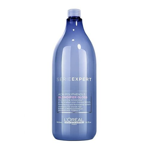 L'Oreal Professionnel Blondifier Gloss Shampoo - Шампунь-сияние для осветленных и мелированных волос, 1500 мл.