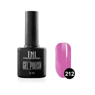 """Цветной гель-лак """"TNL"""" №212 - китайский розовый (10 мл.)"""