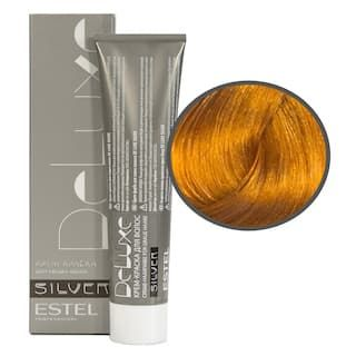 Estel. 9/34 Крем-краска De Luxe Silver, блондин золотисто-медный