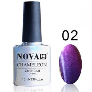 Гель-лак NOVA Chameleon 002