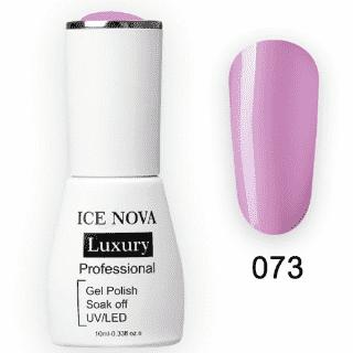 Гель-Лак ICE NOVA Luxury 073 Plum